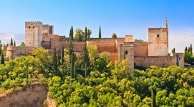 Alhambra Palace and the Canary Islands